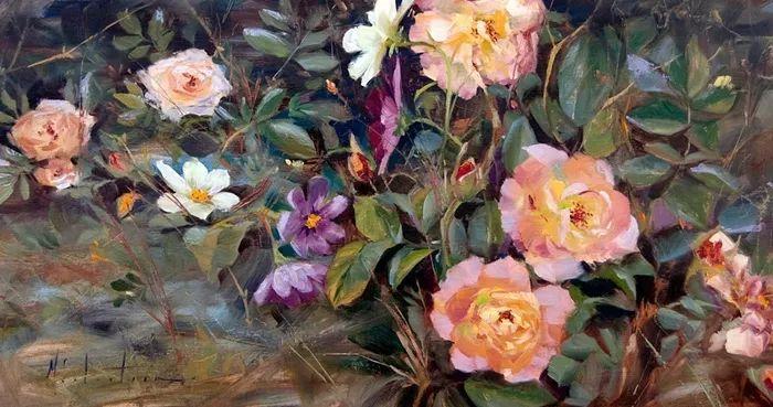 自学油画,她用真情描绘着周围的世界之美插图13