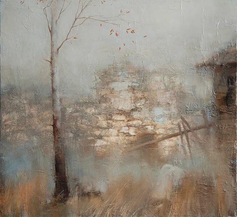 笔触率性,优雅朦胧的风景油画,迷人!插图97