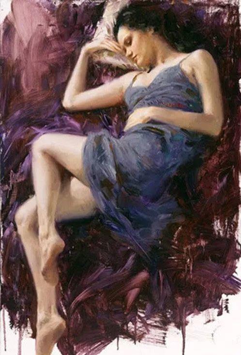最富浪漫表现力的艺术家Vidan油画艺术作品插图47
