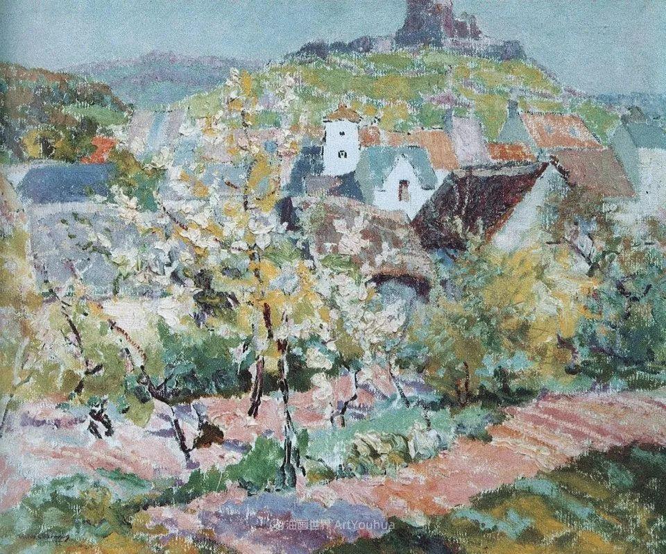 从律师到画家,法国后印象派画家维克多·查雷顿插图29
