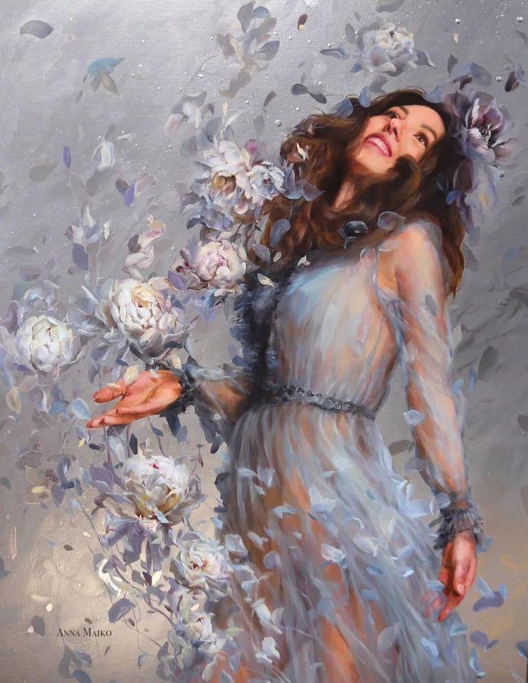 艺术家安娜的精美油画艺术作品欣赏插图29