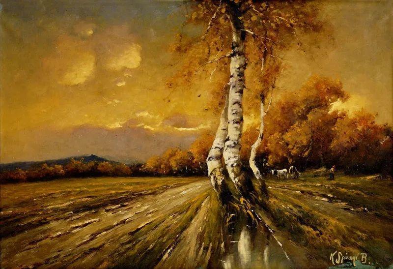 匈牙利杰出的自然风景画家——贝拉·斯潘依插图23