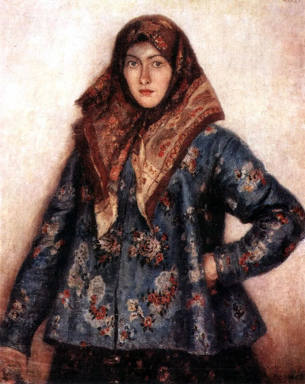 俄罗斯画坛先驱人物,瓦西里·苏里科夫人物作品选粹插图42