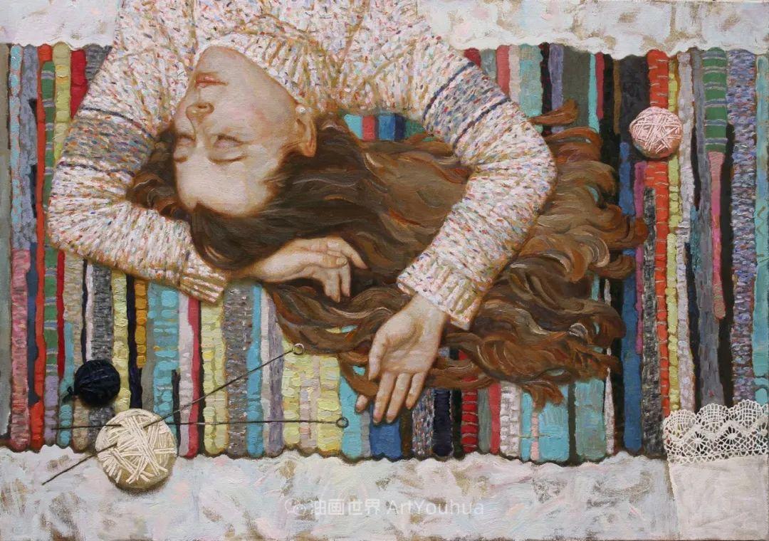 古典风格蛋彩画,俄罗斯画家弗拉基米尔·亚历山德罗维奇插图3