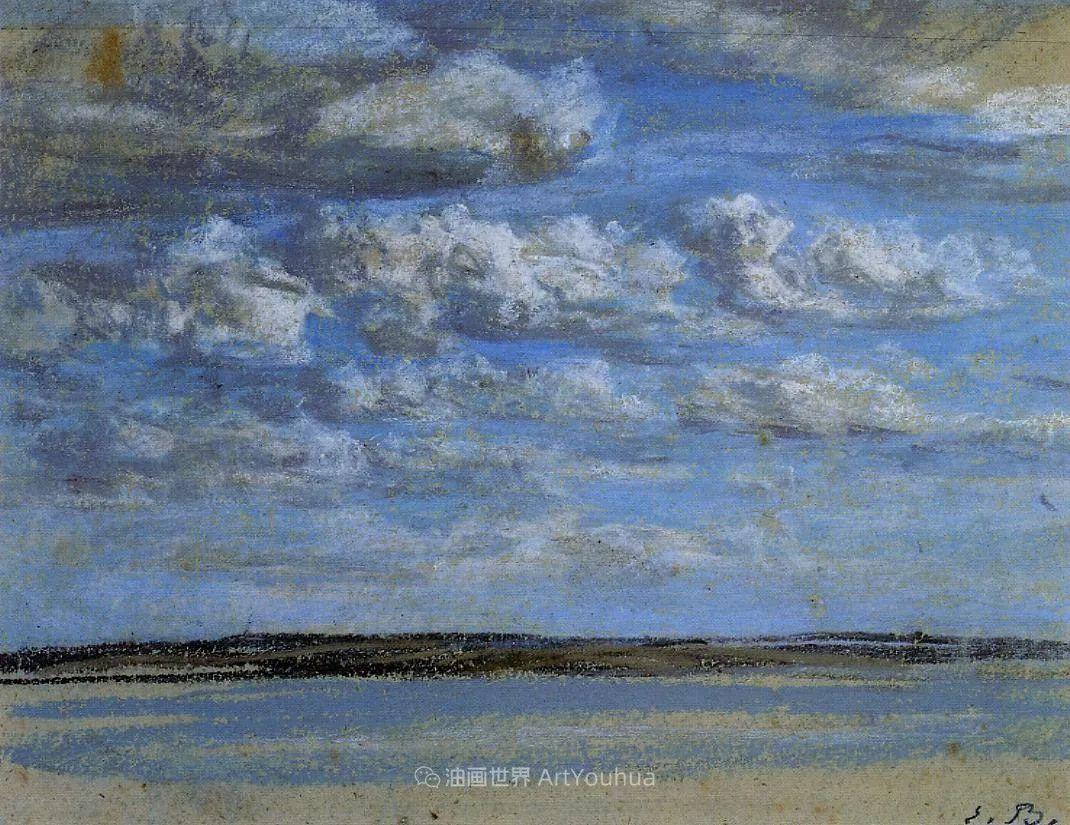 法国最早印象派画家欧仁·布丹,曾教莫奈写生!插图113
