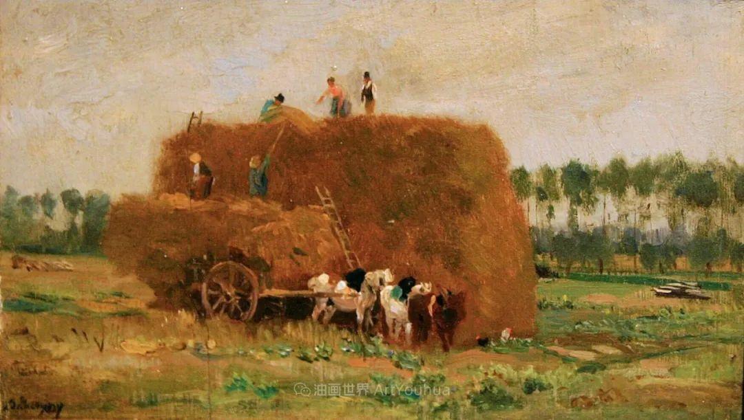 法国著名巴比松派风景画家——杜比尼插图121