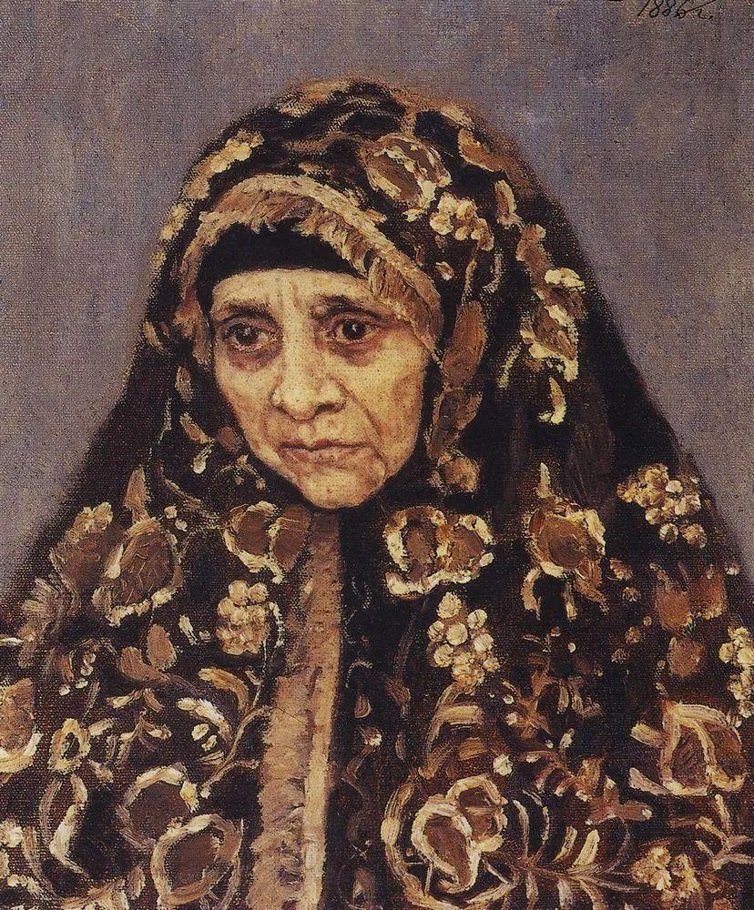 俄罗斯画坛先驱人物,瓦西里·苏里科夫人物作品选粹插图5