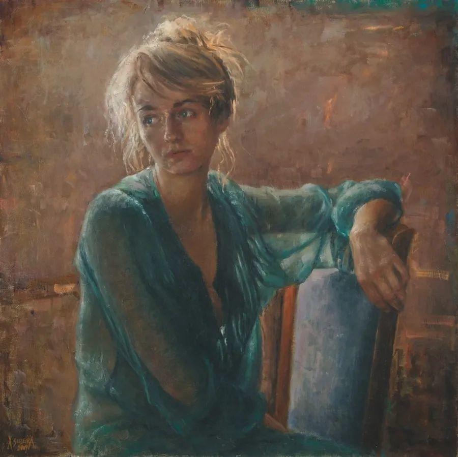 具象现实主义,波兰女画家阿丽娜·西贝拉插图35