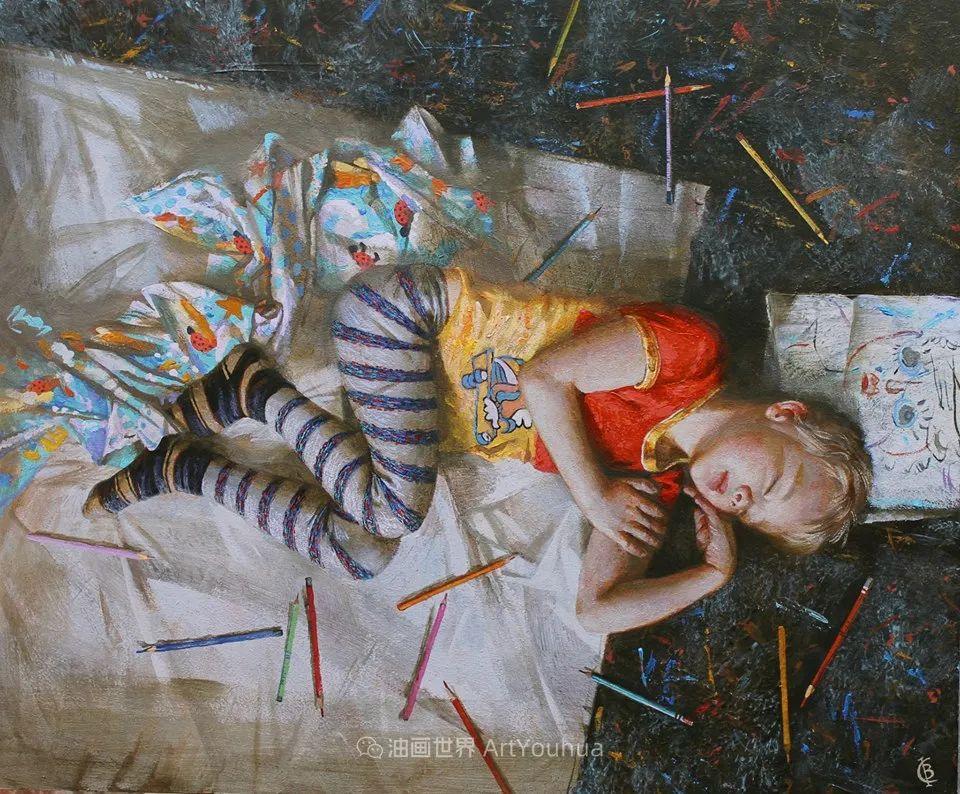 古典风格蛋彩画,俄罗斯画家弗拉基米尔·亚历山德罗维奇插图17