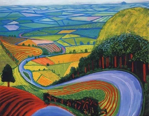 最著名的英国在世画家——大卫·霍克尼插图33