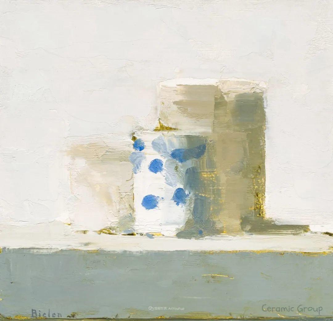 简约宁静 | 波兰画家斯坦利·比伦作品欣赏插图61