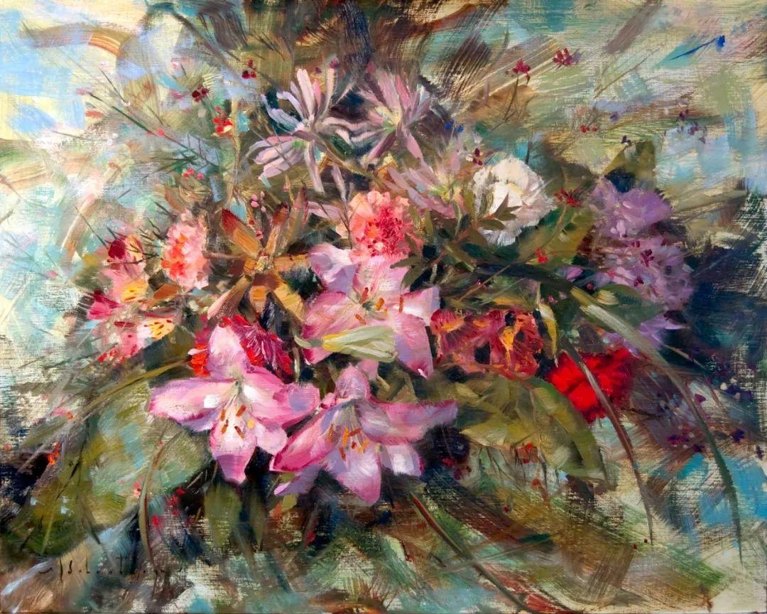 自学油画,她用真情描绘着周围的世界之美插图3
