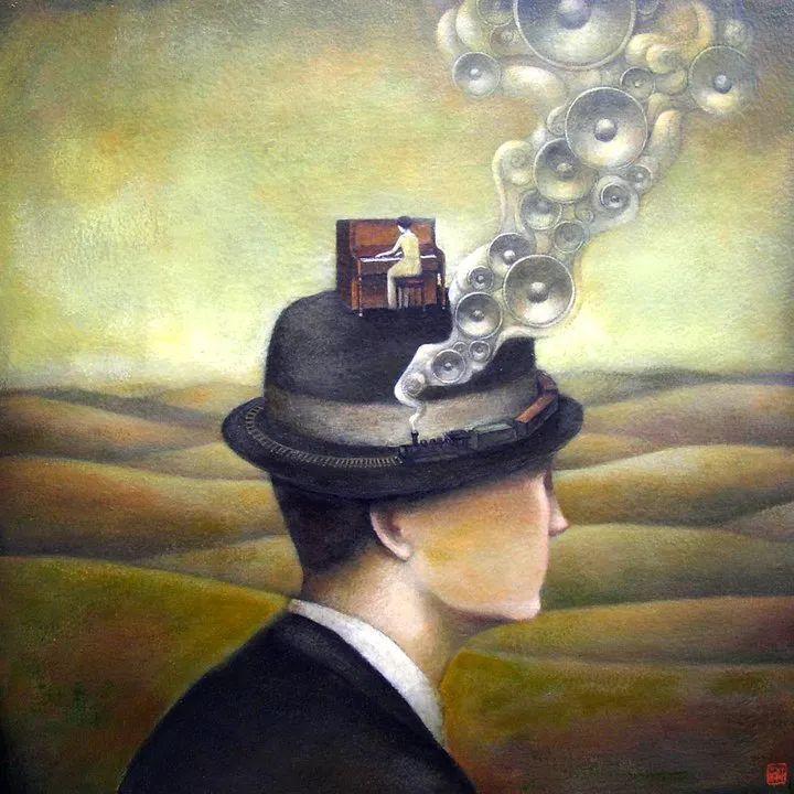 越南画家杜伊·怀恩的空灵绘画插图65