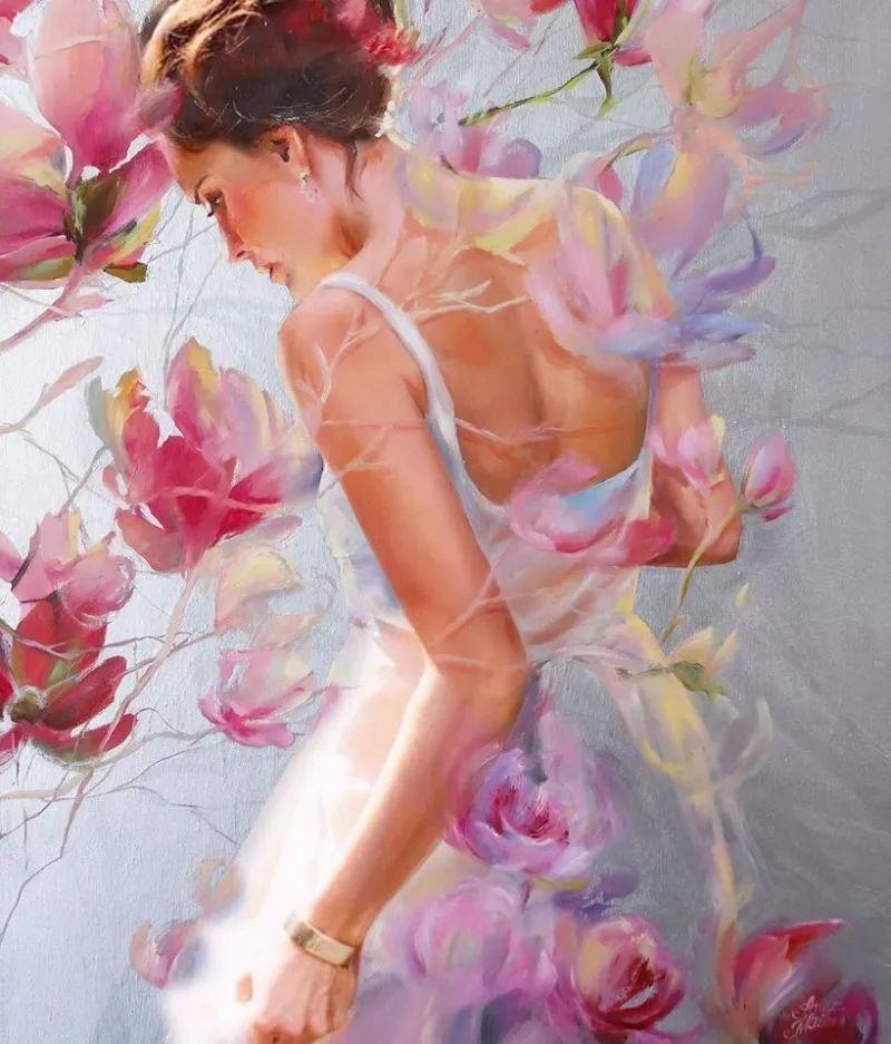 艺术家安娜的精美油画艺术作品欣赏插图15