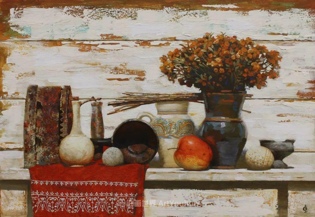古典风格蛋彩画,俄罗斯画家弗拉基米尔·亚历山德罗维奇插图97