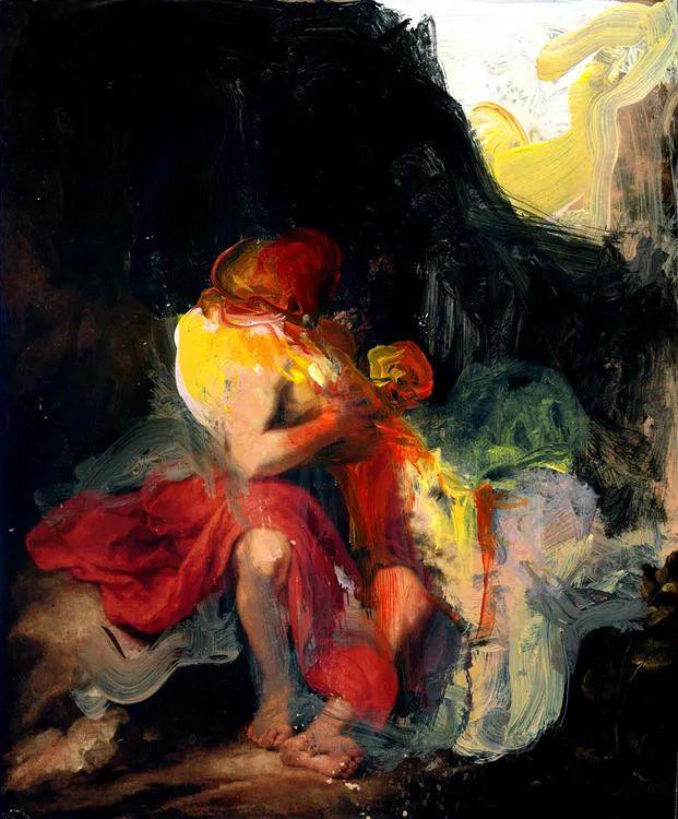 西班牙当代艺术家埃斯库比绘画作品欣赏插图22