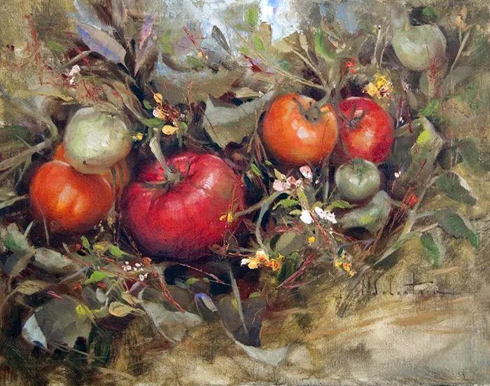 自学油画,她用真情描绘着周围的世界之美插图21