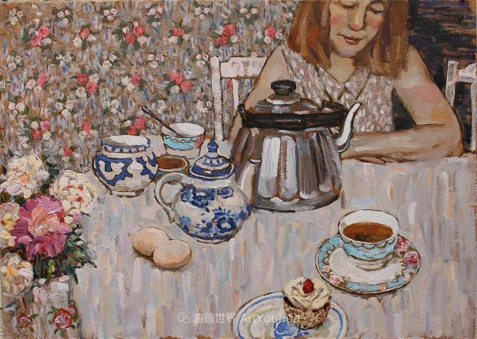 古典风格蛋彩画,俄罗斯画家弗拉基米尔·亚历山德罗维奇插图11