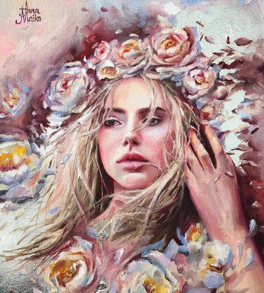 艺术家安娜的精美油画艺术作品欣赏插图25
