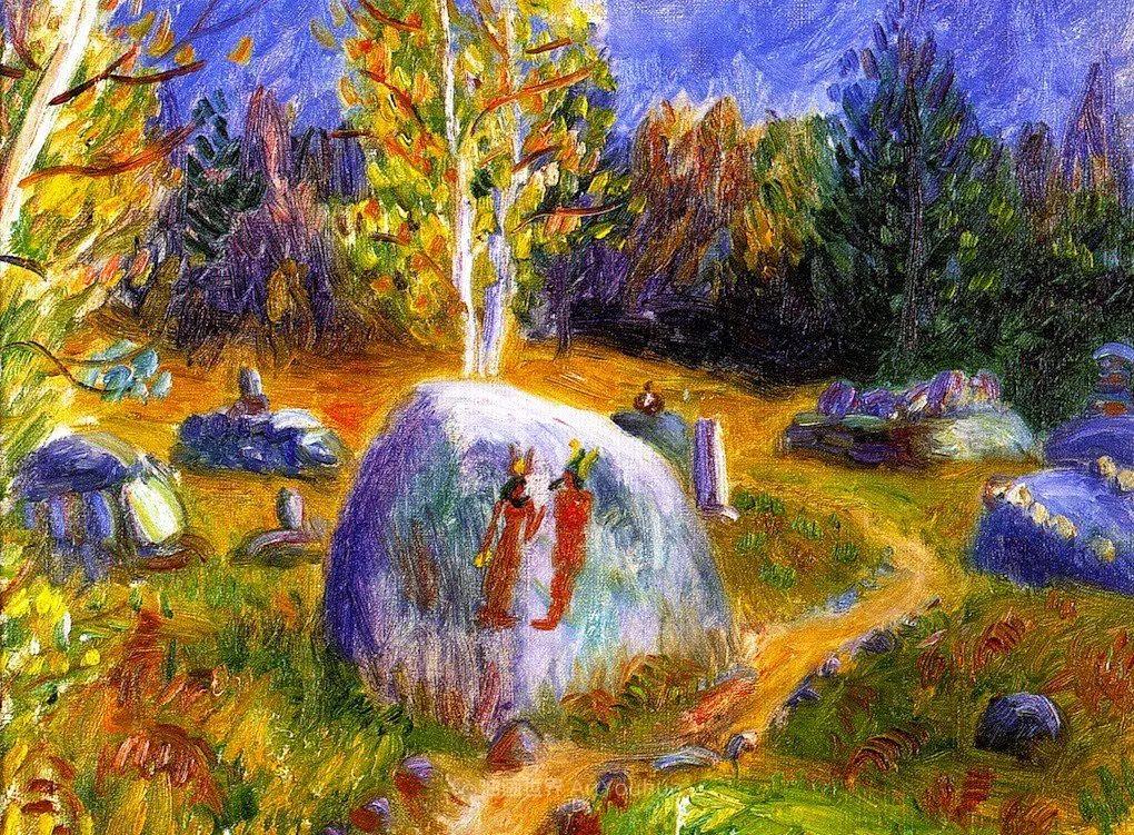 垃圾箱画派现实主义画家,威廉·格拉肯斯插图57