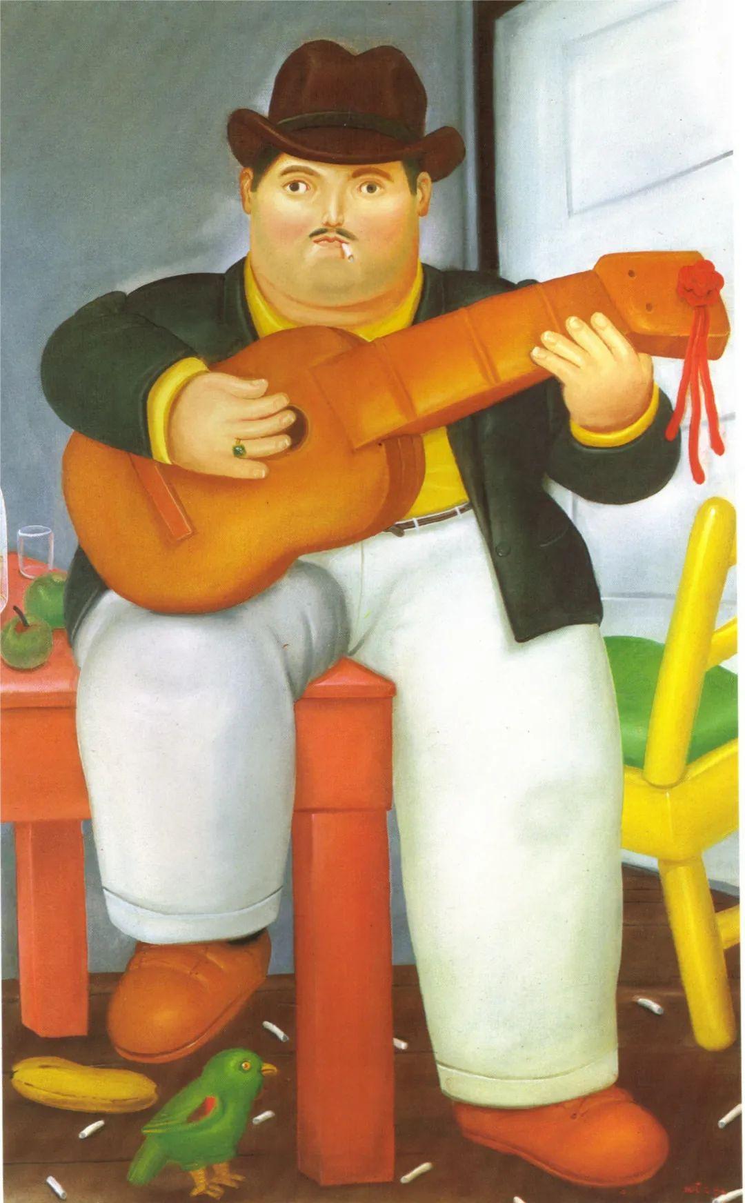 诙谐幽默的圆润形态 | 费尔南多·波特罗插图30
