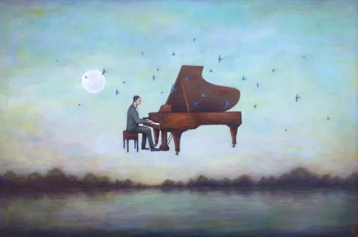 越南画家杜伊·怀恩的空灵绘画插图131