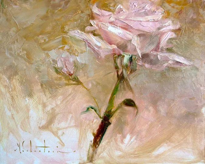 自学油画,她用真情描绘着周围的世界之美插图61