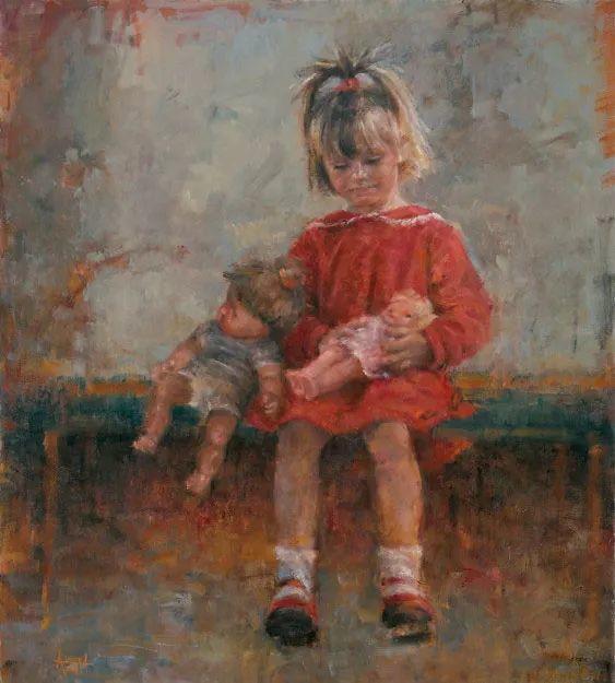 具象现实主义,波兰女画家阿丽娜·西贝拉插图87