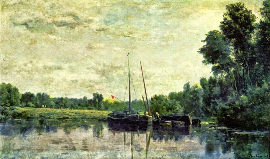 法国著名巴比松派风景画家——杜比尼插图137