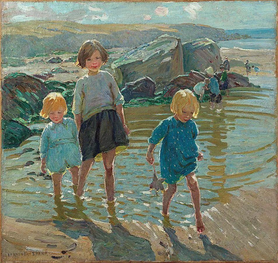充满着写意风格的绘画,20世纪英国最伟大的女画家之一夏普插图59