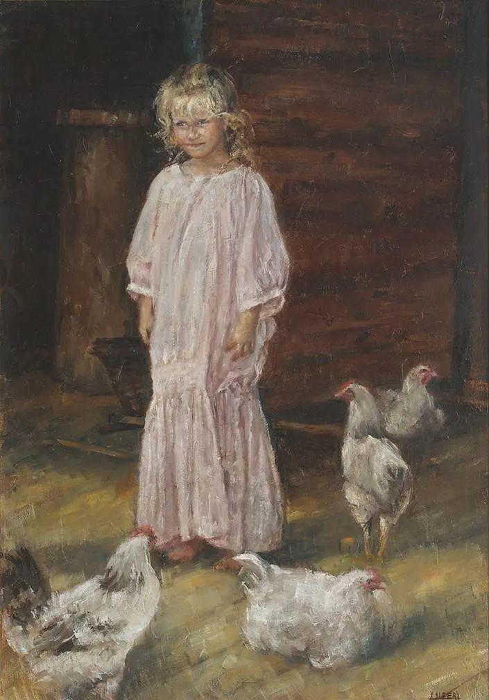 具象现实主义,波兰女画家阿丽娜·西贝拉插图81