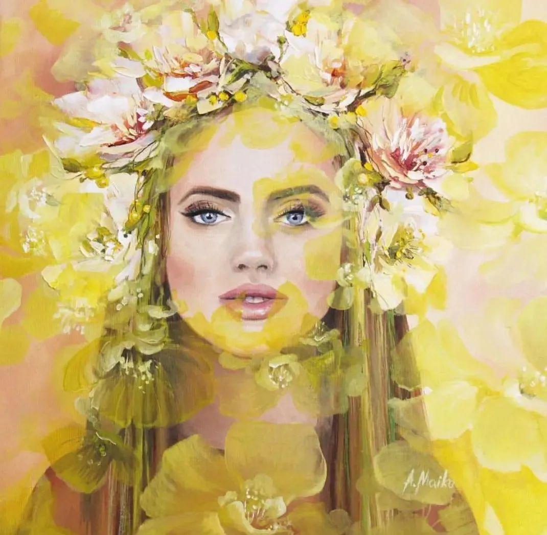 艺术家安娜的精美油画艺术作品欣赏插图21