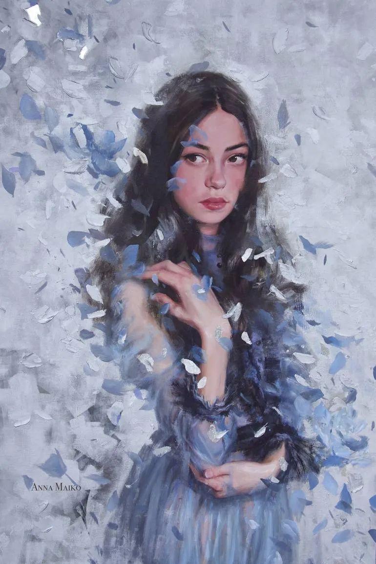 艺术家安娜的精美油画艺术作品欣赏插图23