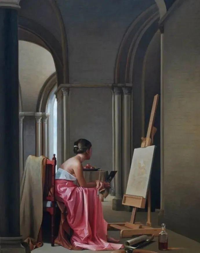 秘鲁自学成才艺术家的写实油画,展现着油画人物不同的美插图23