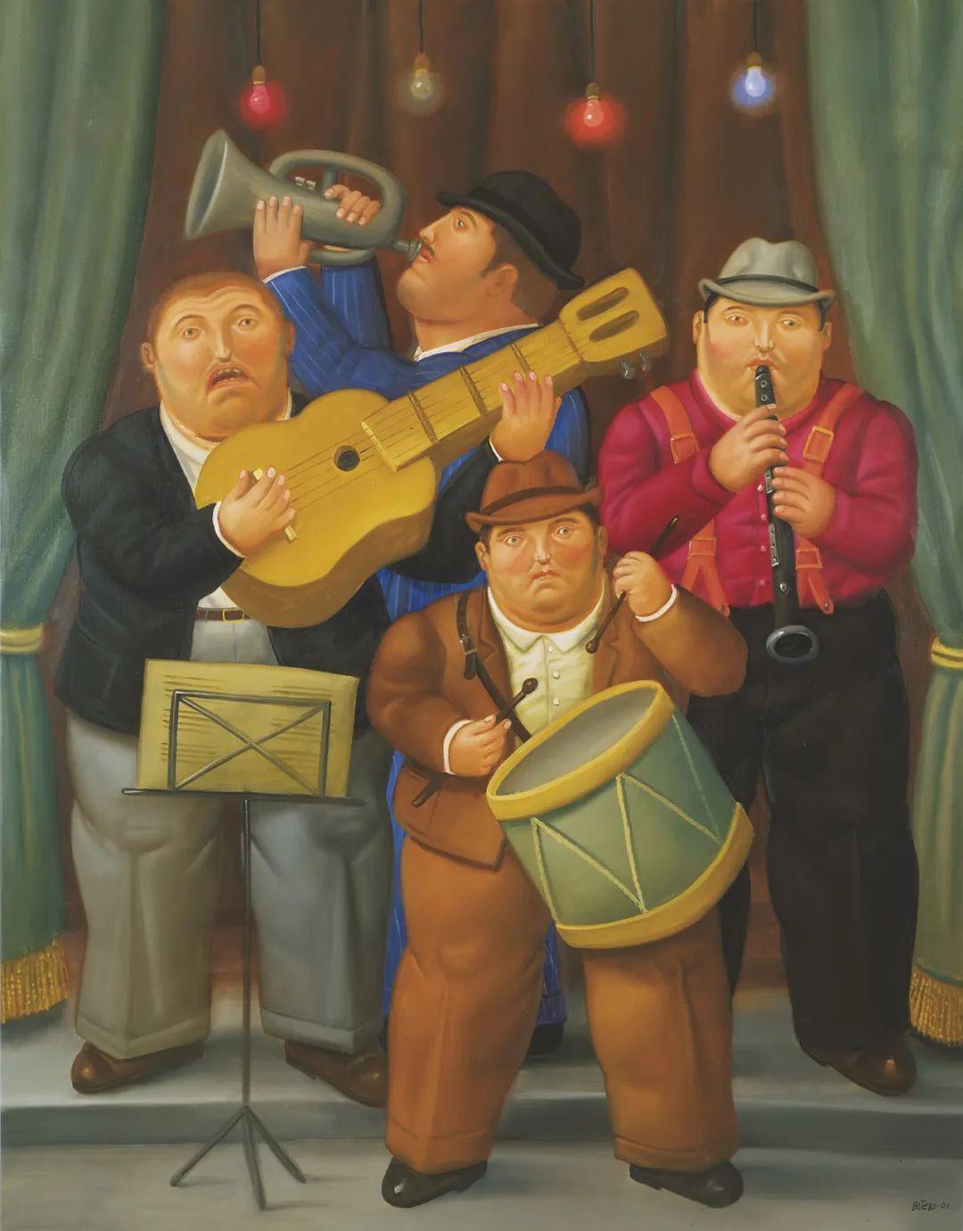 诙谐幽默的圆润形态 | 费尔南多·波特罗插图70