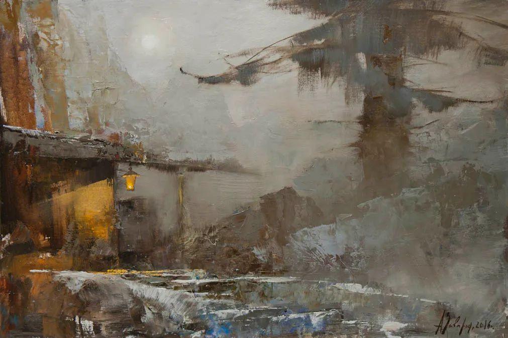 笔触率性,优雅朦胧的风景油画,迷人!插图5