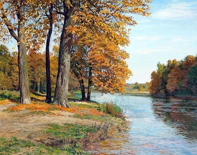 """岁月静好,俄罗斯"""" 小希施金 """" 的自然风景油画,美极了!插图53"""