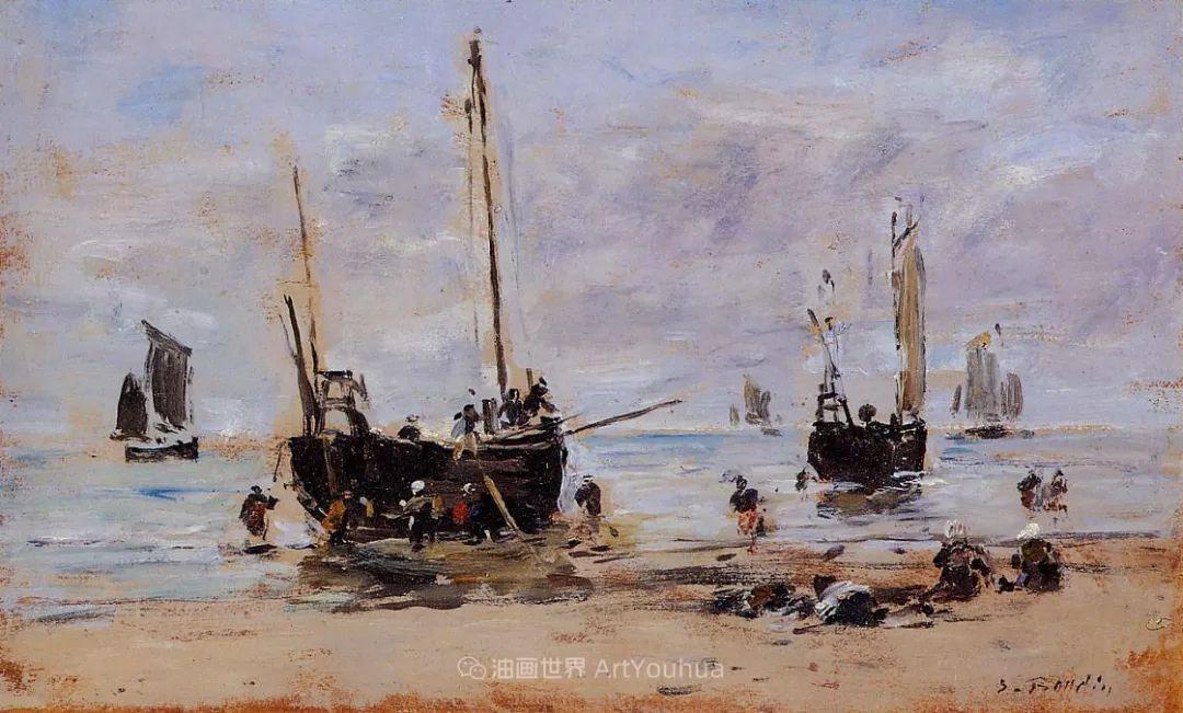法国最早印象派画家欧仁·布丹,曾教莫奈写生!插图79