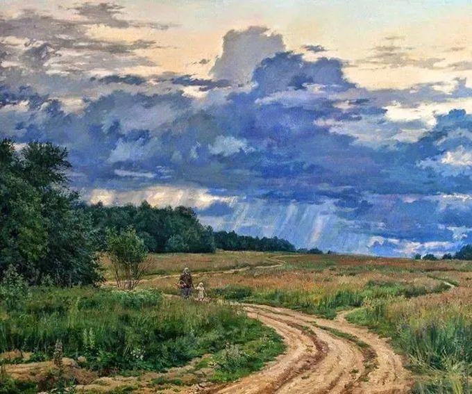 """岁月静好,俄罗斯"""" 小希施金 """" 的自然风景油画,美极了!插图25"""