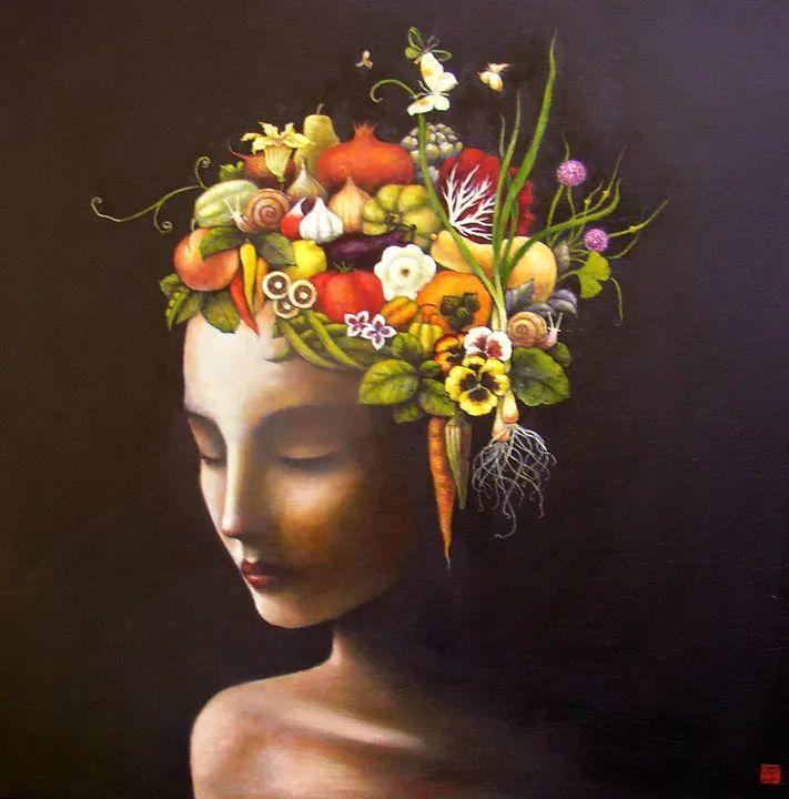 越南画家杜伊·怀恩的空灵绘画插图69