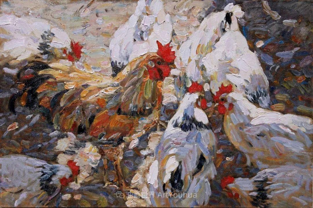 古典风格蛋彩画,俄罗斯画家弗拉基米尔·亚历山德罗维奇插图21