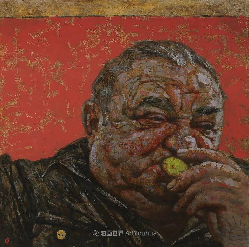 古典风格蛋彩画,俄罗斯画家弗拉基米尔·亚历山德罗维奇插图41