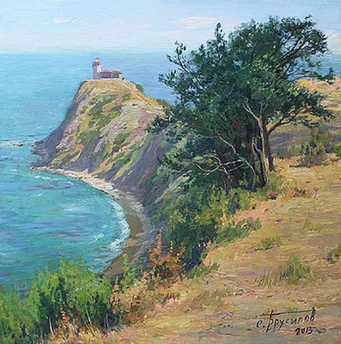 """岁月静好,俄罗斯"""" 小希施金 """" 的自然风景油画,美极了!插图65"""