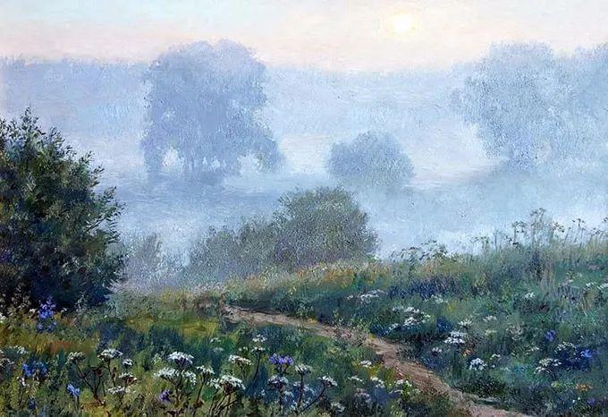 """岁月静好,俄罗斯"""" 小希施金 """" 的自然风景油画,美极了!插图41"""