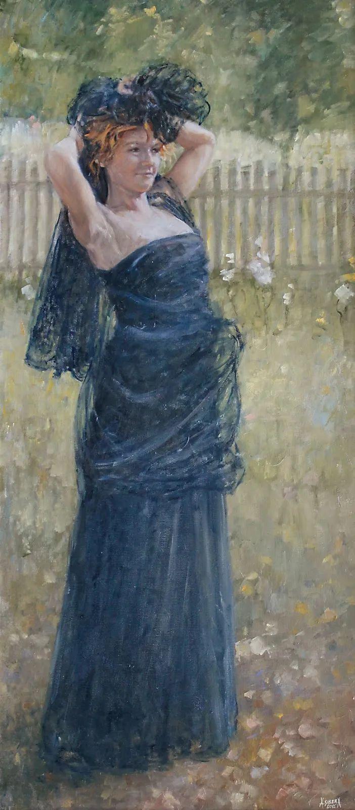 具象现实主义,波兰女画家阿丽娜·西贝拉插图83