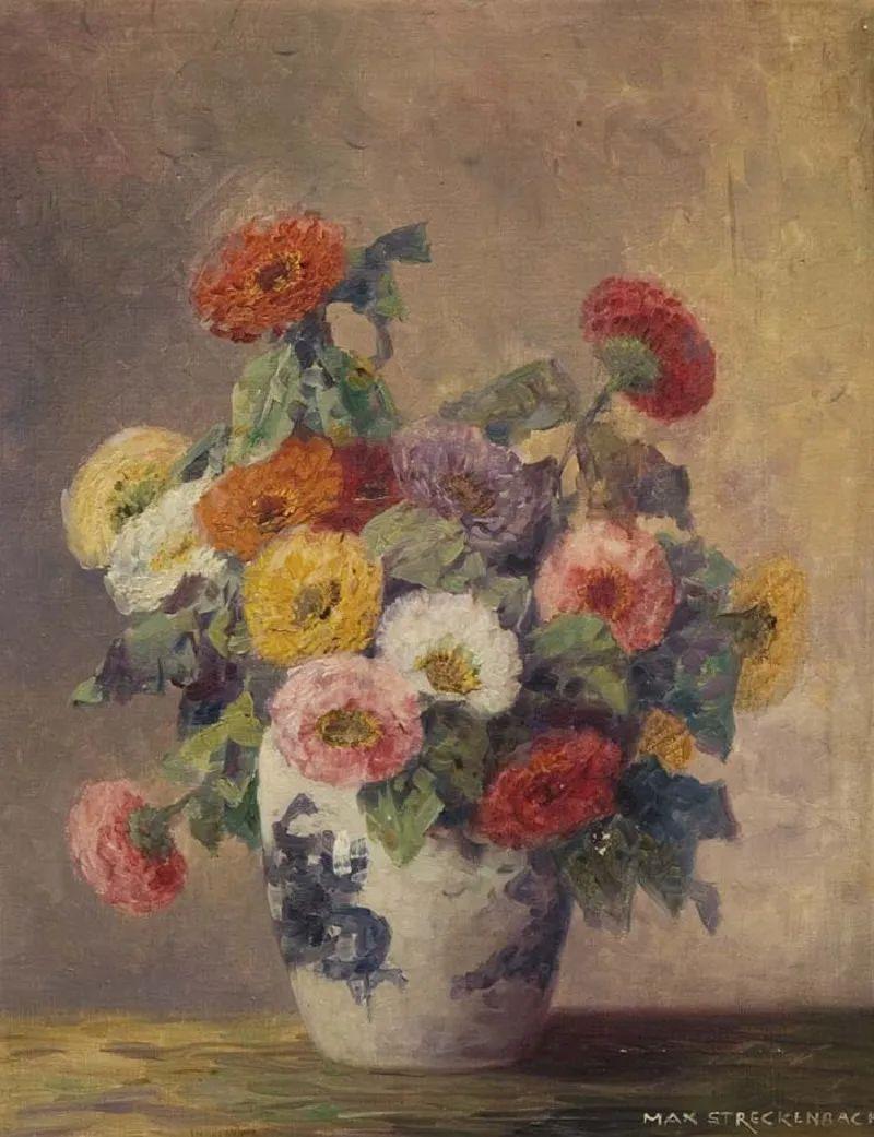 学医的他,37岁才开始自学绘画,笔下五颜六色的花束,太美了!插图63