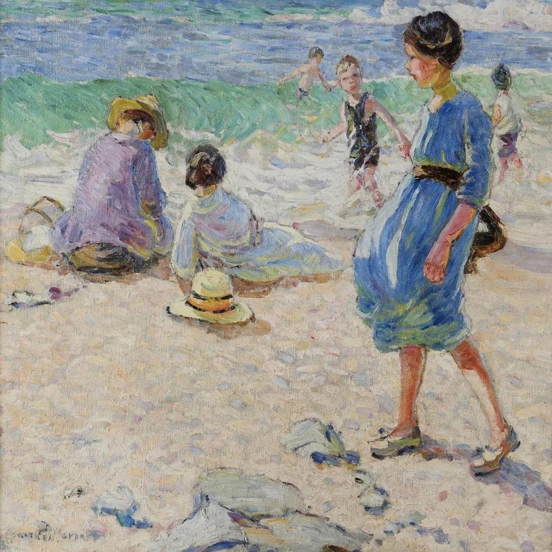 充满着写意风格的绘画,20世纪英国最伟大的女画家之一夏普插图47