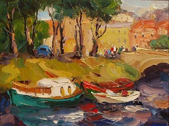 俄罗斯画家 弗拉基米尔·苏科瓦蒂 刮刀油画作品欣赏插图89