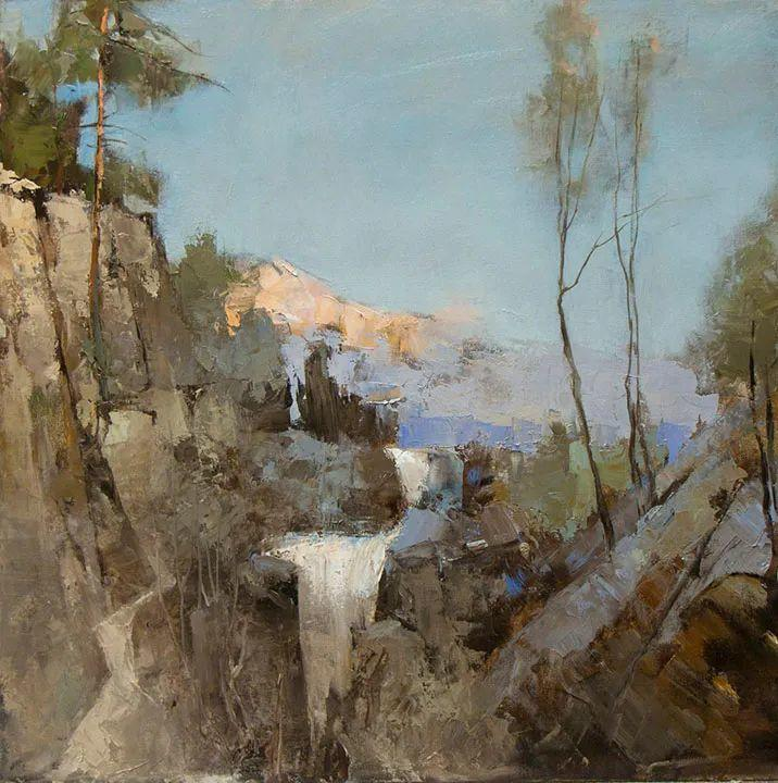 笔触率性,优雅朦胧的风景油画,迷人!插图31