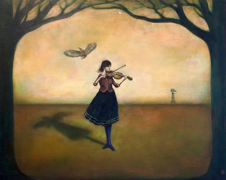越南画家杜伊·怀恩的空灵绘画插图61